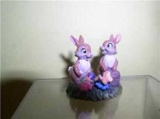 Buy Disney Thumpers sisters rabbits from movie Bambi Miniature Figurine