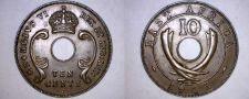 Buy 1941-I East African 10 Cent World Coin - British Admin Kenya
