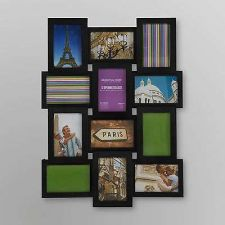 Buy 12 Opening Curved Flat Photo Picture Frame Collage Set Wall Mount Decor Hanging