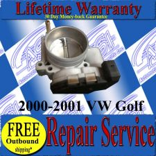 Buy 2000 00 01 2001 VW Golf 2.8L JETTA THROTTLE BODY REPAIR SERVICE READ LISTING
