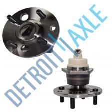 Buy Pair of 2 - NEW Rear Driver and Passenger Wheel Hub and Bearing Assembly w/ ABS