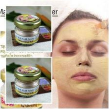 Buy 2x 24K Gold Active Face Mask Aqua Soft Powder Anti Aging Collagen Lighten Moist