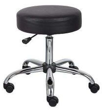 Buy Seat Chrome Stools Lab Chairs Science Medical Furniture Office Doctor Padded New