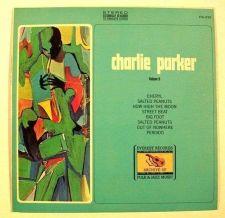 """Buy CHARLIE PARKER """" Charlie Parker ~ Volume II' """" 19701 Jazz LP"""