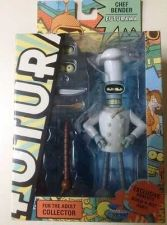 Buy Futurama-Chef Bender- Roberto Build a Bot never removed from box