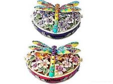 Buy Collectible RUCINNI Swarovski Crystals BeJeweled DRAGONFLY Trinket Jewelry BOX