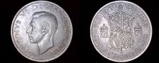 Buy 1948 Great Britain 1/2 Crown World Coin - UK - England