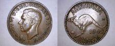 Buy 1942-I Australian 1 Penny World Coin - Australia - Kangaroo
