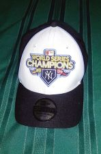 Buy 2009 World Series New Era NY YANKEES Official Blk/White MEN HAT,One Size