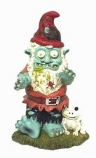 Buy Creepy Halloween Zombie Gnome Garden Statue Sculpture Halloween Holiday Decor Ou