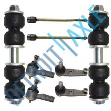 Buy 8PC Kit - Pair of 2 NEW Front Sway Bars + 2 Lower Ball Joints + 4 Outer Tie Rods