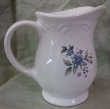 Buy Pfaltzgraff Handled Pitcher (1-Pint) Floral Print ** Great Collectable Condition