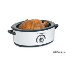 Buy Roaster Oven 6.5 qt. Removable Serving Pan Countertop Crock-pot sized Baking New