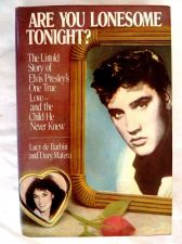 Buy ELVIS *ARE YOU LONESOME TONIGHT?* by Lucy de Barbin-1st Ed 1987-Illustrated