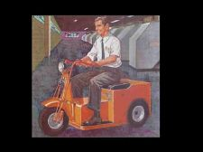Buy CUSHMAN MINUTE MISER ELECTRIC CART & SCOOTER MANUALs 95pgs with Parts Lists