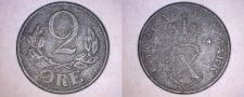 Buy 1944 Danish 2 Ore World Coin - German Occupied Denmark