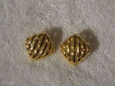 Buy Sarah Coventry Jewelry Tailored Pierced Earrings #1320