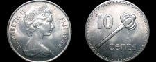 Buy 1969 Fiji Islands 10 Cent World Coin