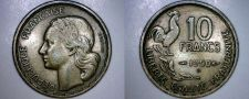 Buy 1950-B French 10 Franc World Coin - France