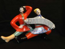 Buy Antique RUSSIAN USSR porcelain figurine . With Mark and number