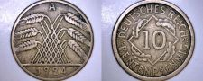 Buy 1924-A German 10 Pfennig World Coin - Germany