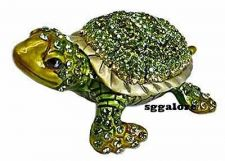 Buy RUCINNI Swarovski Crystals BeJeweled SEA TURTLE TORTOISE Trinket Jewelry BOX