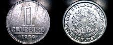 Buy 1959 Brazilian 1 Cruziero World Coin - Brazil