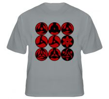 Buy Mangekyo Sharingan Shirt S to XL