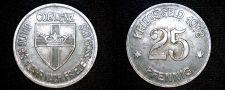 Buy 1918 German 25 Pfennig Kriegsgeld World Coin - Coblenz Germany Notgeld
