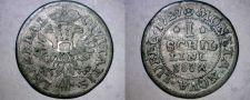 Buy 1727-JJJ German States Lubeck 1 Schilling World Silver Coin
