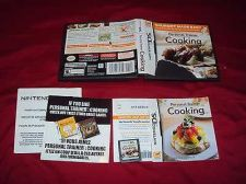 Buy DS PERSONAL TRAINER COOKING CARTRIDGE MANUAL INSERT ART & CASE NEAR MINT