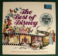 Buy THE BEST OF DISNEY ~ Volume One / Disneyland 1978 Film Favorites LP