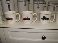 Buy Salem Coffee Mugs Set of 5 - Different Cars - Excellent Condition
