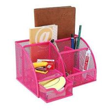 Buy Mesh Desk Organizer Office Space Supply Caddy Multipurpose Holder Pen Pencil New