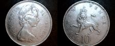 Buy 1968 Great Britain 10 New Pence World Coin - UK - England