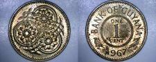 Buy 1967 Guyana 1 Cent World Coin