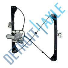 Buy NEW Front Driver Side Power Window Regulator Assembly w/ Motor - Sedan