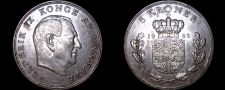 Buy 1963 Danish 5 Kroner World Coin - Denmark