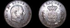 Buy 1963 Danish 5 Kroner World Coin - Denmark