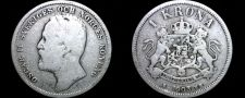 Buy 1903 Sweden 1 Kronor Krona World Silver Coin