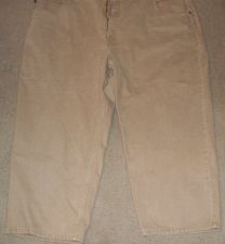 Buy Drill Cothing Company Men's Tan Pants 58W 30L 100% Cotton
