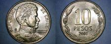 Buy 2000 Chilean 10 Peso World Coin - Chile
