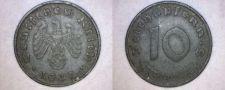 Buy 1941-D German 10 Reichspfennig World Coin - Germany 3rd Reich