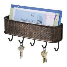 Buy Mail Key Rack Paper Letter Office Home Storage Holder Decor Mounting Wall New