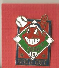 Buy Cleveland Indians Pin - Sold Out PIN 1996