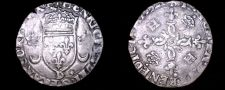 Buy 1552-D French Douzain Aux Crescent World Coin - France Henry II