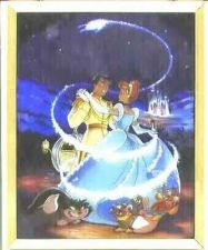 Buy Disney Cinderella and the prince dancing Stained Glass