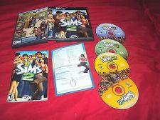 Buy SIMS 2 PC DISCS MANUAL KEY COM CARD ART & CASE VERY GOOD TO NEAR MINT HAS CODE