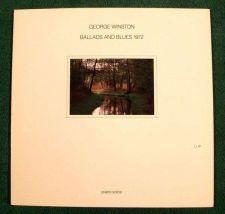 Buy GEORGE WINSTON ~ Ballads and Blues 1972 1981 Jazz LP