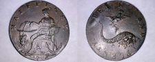 Buy 1794 Great Britain England Halfpenny Condor Token